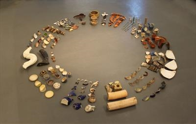 Awakening in our Shadows by Karina Carrington MRBS, Installation, Found Objects